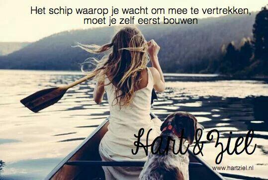 #varen#water#boot#quote#citaat#geluk#gezond #gezin#vrouw#leven #coaching #hartziel