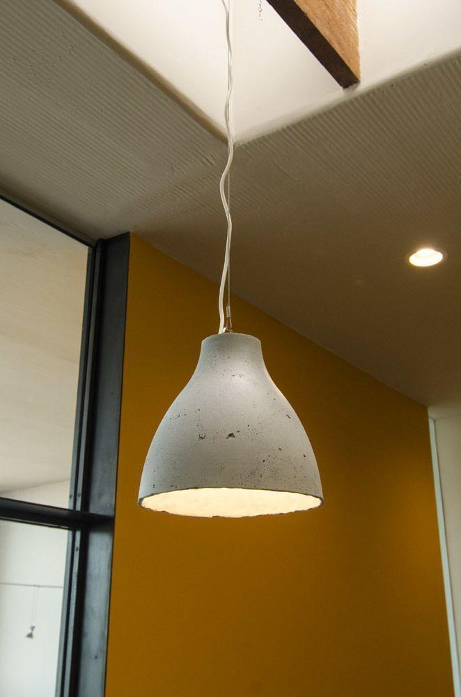 ShapeCrete IKEA hack lamp