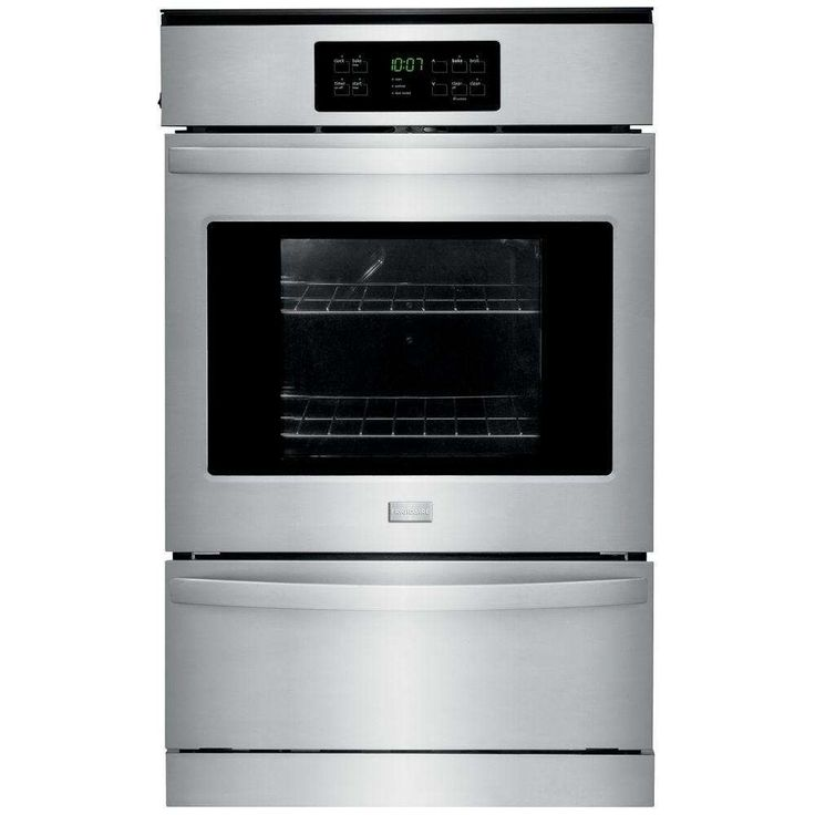 "24"" Stainless Steel Gas Single Wall Oven"