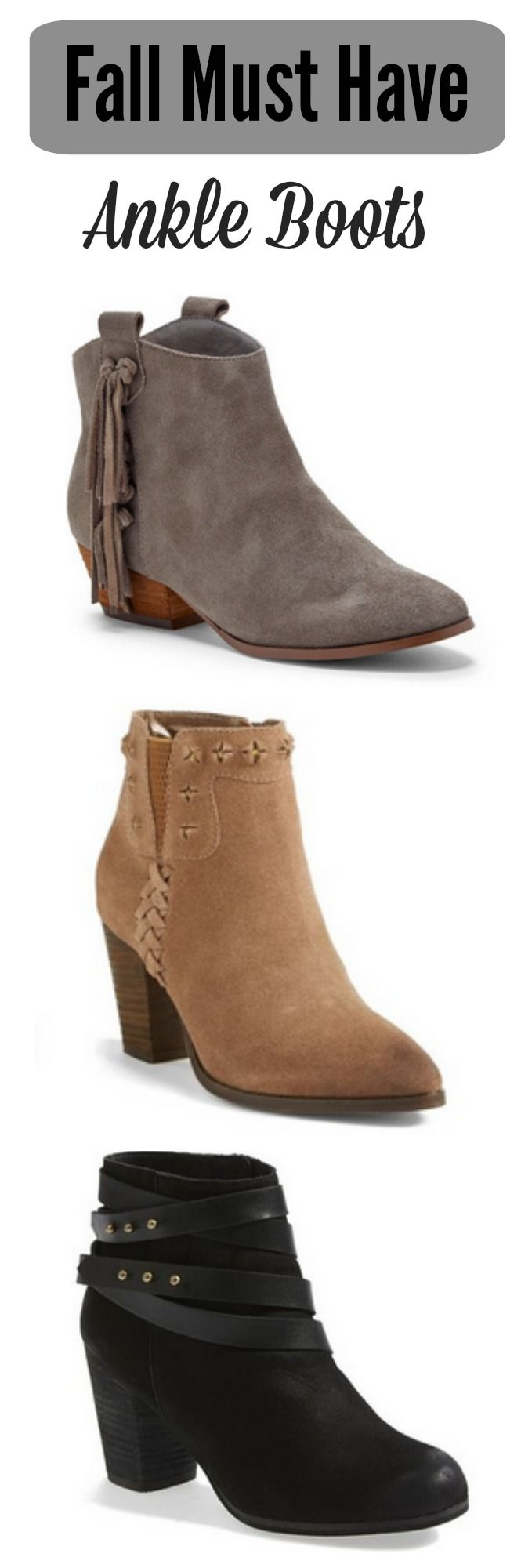 10 Fall Ankle Boots