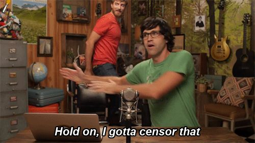 Rhett & Link GIFS. Lol. Weirdos. I don't know if i have ever seen this episode!!!!!