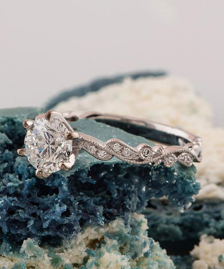 best 25 engagement rings without diamonds ideas on