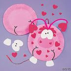 Álbumes web de Picasa - Susam Martinez pre escolar: Bricolage Stvalentin, Crafts With, Children Crafts, Crafts Varies, Libraries Crafts, Paper Plates Crafts, Con Plato, Crafts Kits, Kids Fun