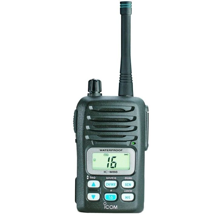 Marine and Aircraft Radios: Icom Ic-M88 Mini Handheld Vhf Radio - Waterproof -> BUY IT NOW ONLY: $250.0 on eBay!