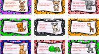 Divertidas adivinanzas de animales en láminas a todo color