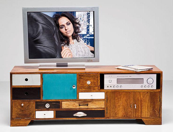 Mueble TV Malibu   Material: Madera de Mango   Mueble realizado en ... Eur:851 / $1131.83