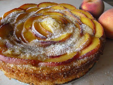 Ricotta and peaches pie- Torta ricotta e pesche - YouTube
