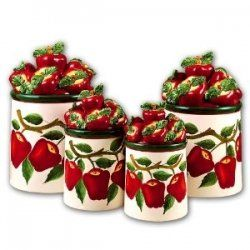 Apple kitchen decor is extremely popular and perfect for the kitchen. Apple kitchen decor blends with a country theme very well. Wouldn't it be...