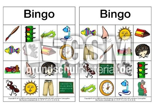 bingo deutsch
