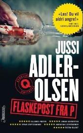 """Jeg var så heldig å vinne """"Flaskepost fra P"""" av Jussi Adler-Olsen, og ble øyeblikkelig fan av hans bøker. Dette er den tredje romanen om Avdeling Q i København."""
