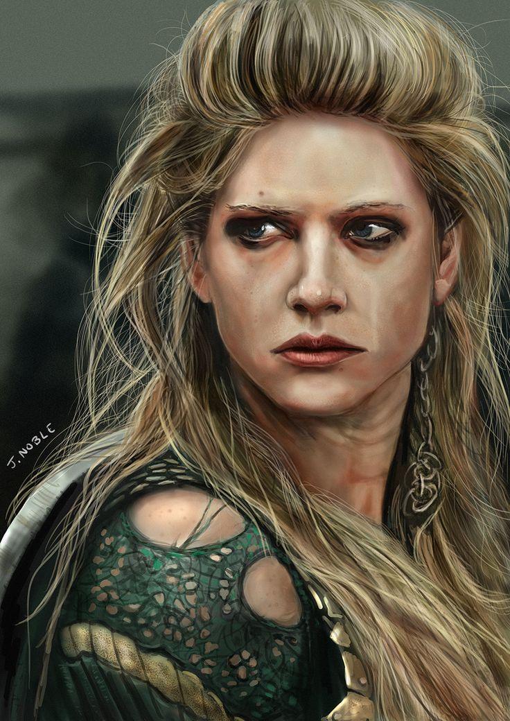 Lagertha by Jamie Noble #vikings #lagertha