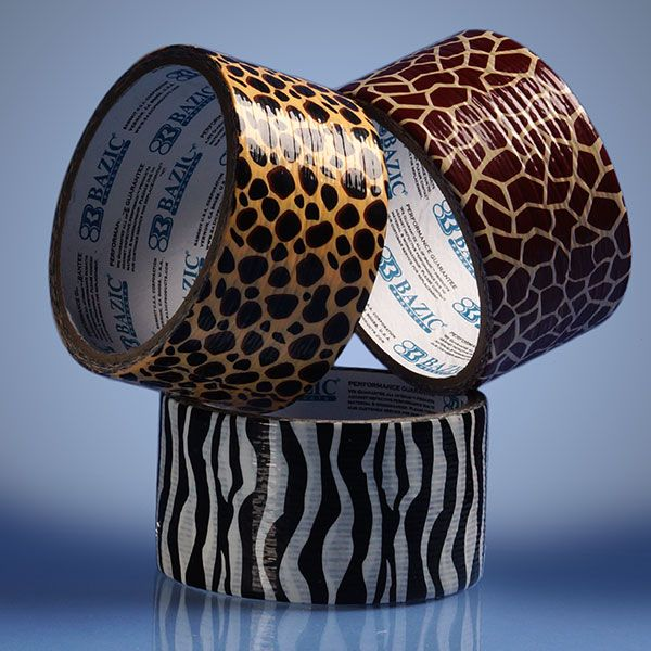 Printed Duct Tapes for Crafting and Fixing Things in a Cute and Fashionable Way! #ducttape