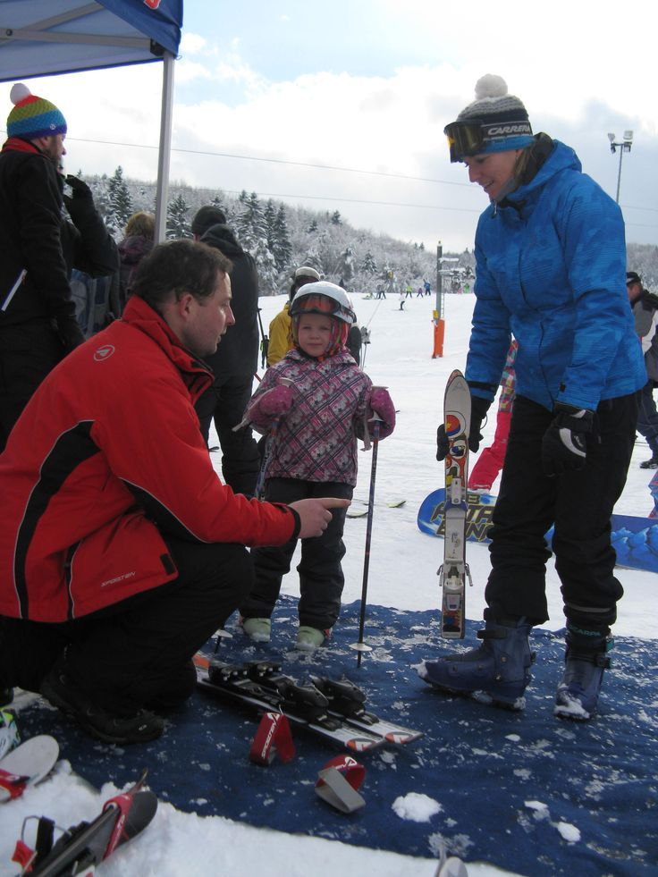 Test of Sporten skis in winter 2014/15