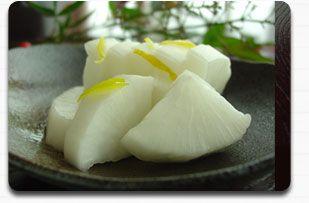 ゆず大根(漬物)の作り方 | 甘酢漬けの簡単レシピ・カロリー・即席