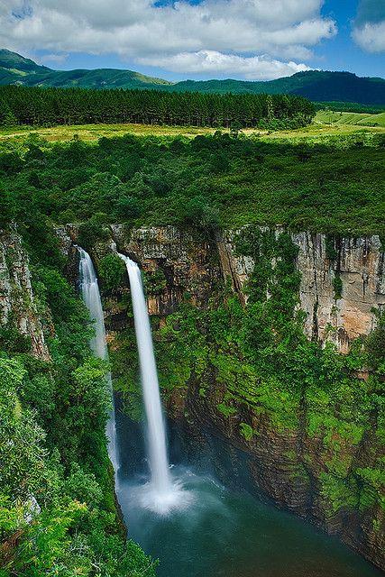 ^Mac-Mac Falls in Mpumalanga, South Africa