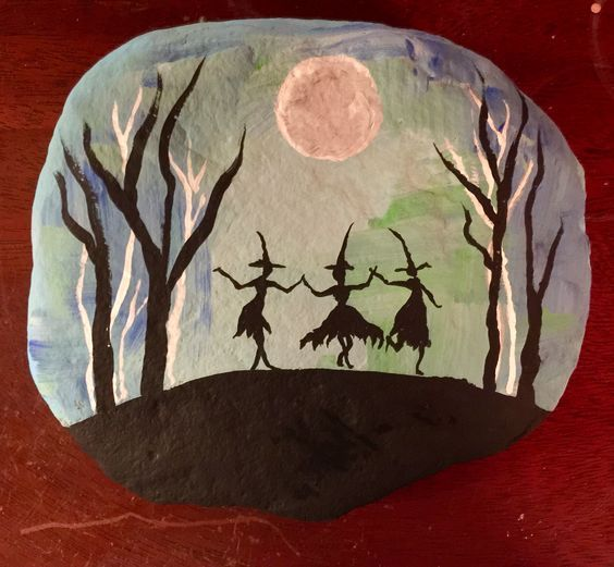 34 Rock Painting Ideas for Halloween and Fall –