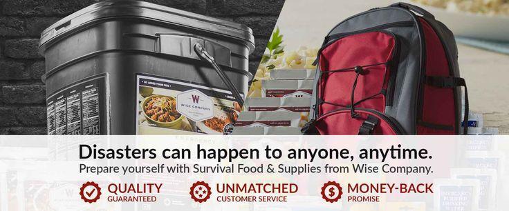 Survival Food & Emergency Food Storage | Wise Food Storage