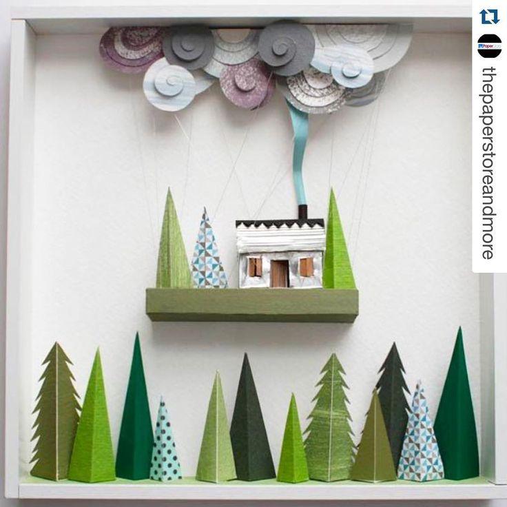 """Stay display inspired! #Repost @thepaperstoreandmore  Paper Art Alert    Courtesy of askepticaldesigners.wordpress.com #paper #art #papercraft…"""