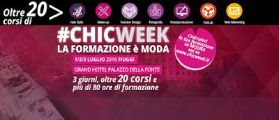 ROMINDESIGN creations from my mind: Chic Week - LA FORMAZIONE E' MODA