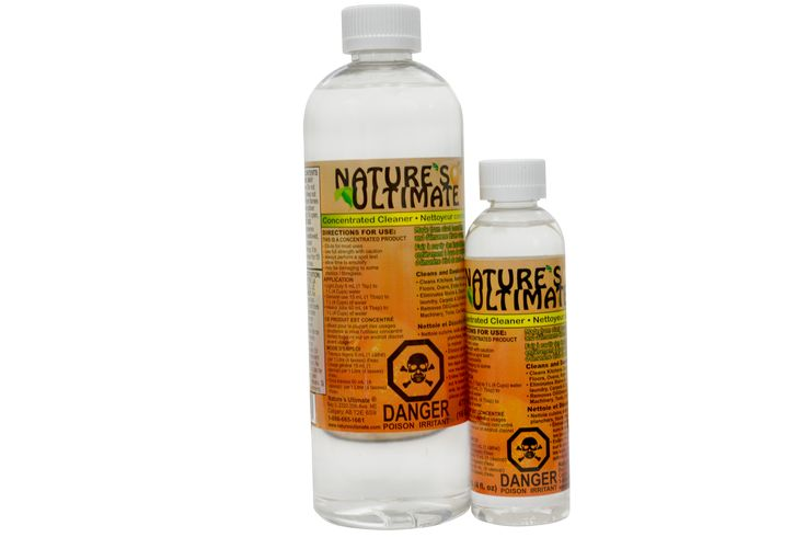 Our concentrated cleaner can be used for many things.  Unlike many cleaning products that are 80-90% water, NUC is 100% active ingredient.  Also, unlike other cleaners, we use no dye, no bleach, no fragrance or other harmful  chemicals so it's great to use in your home around your family and pets.
