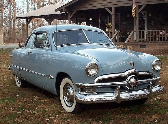 1950 Ford Custom Coupe - nice!