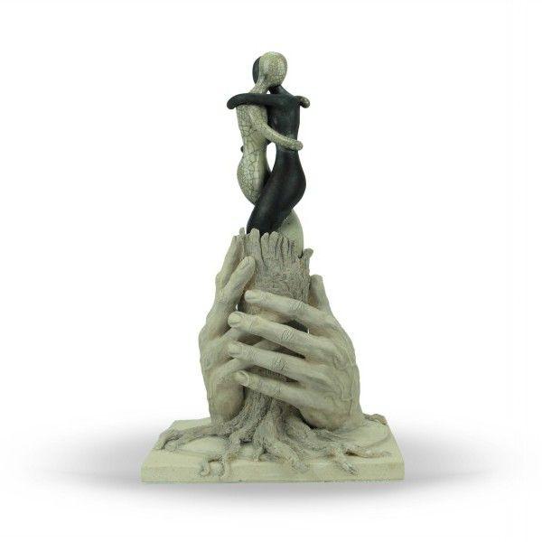 """Scultura a tutto tondo in ceramica """"La Forza"""" - Liberati"""