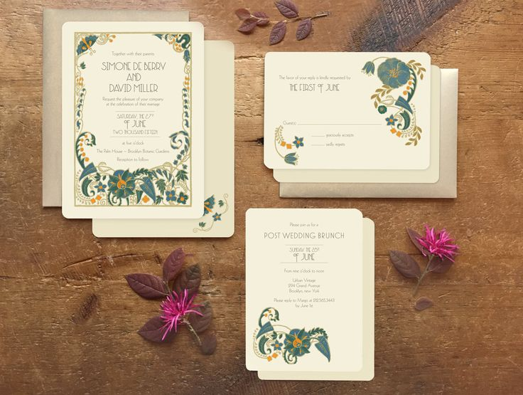 greenery wedding invitation art deco wedding invitation wedding stationery wedding invitations gatsby invitation jade mandevilla
