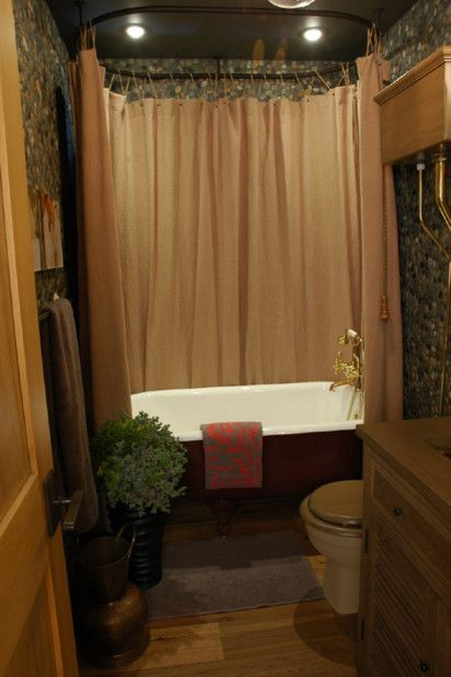 Image Result For Rustic Bathroom Curtains  Find and save ideas about Rustic shower curtains on Pinterest. | See more ideas  about Rustic shower curtain rods, Country style brown bathrooms and Cedar hill  apartments..Shop for rustic bath decor and lodge style bathroom hardware at Cabinplace.com...