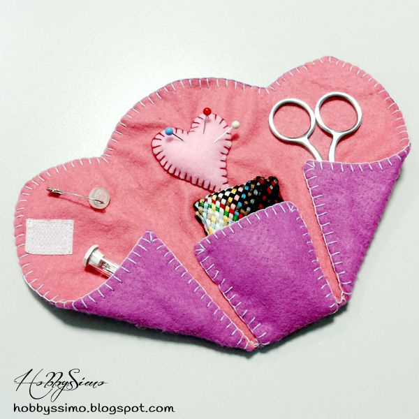 SWAP 5 ANNI INSIEME #2 - PORTACUCITO IN FELTRO + FREE PATTERN (LINK) - HobbysSimo