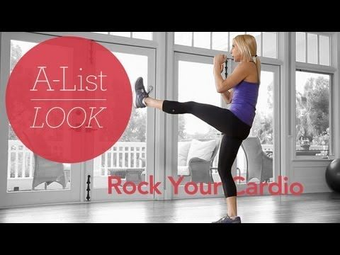 Get your heart pumping with this Rock Your Cardio #Workout a part of the @LIVESTRONG.COM | A-List Look with Valerie Waters series. #Fitness #Exercise