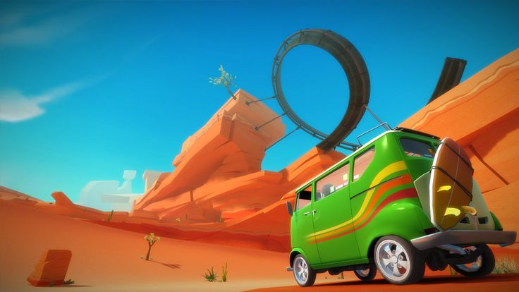 My game has been released Joy Ride Turbo! - Polycount Forum
