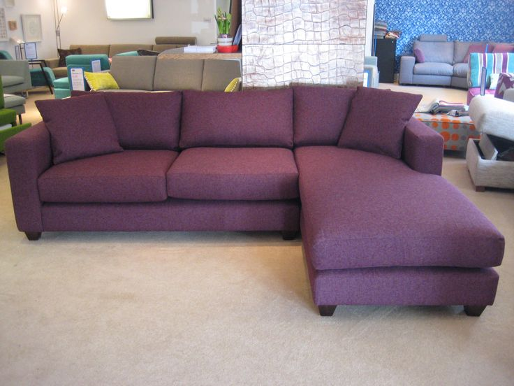 Mapperly Sofa And Chaise Ered In Houles Boston Fabric This Uk Bespoke Option May Also Be Commissioned As A Or Corner Unit