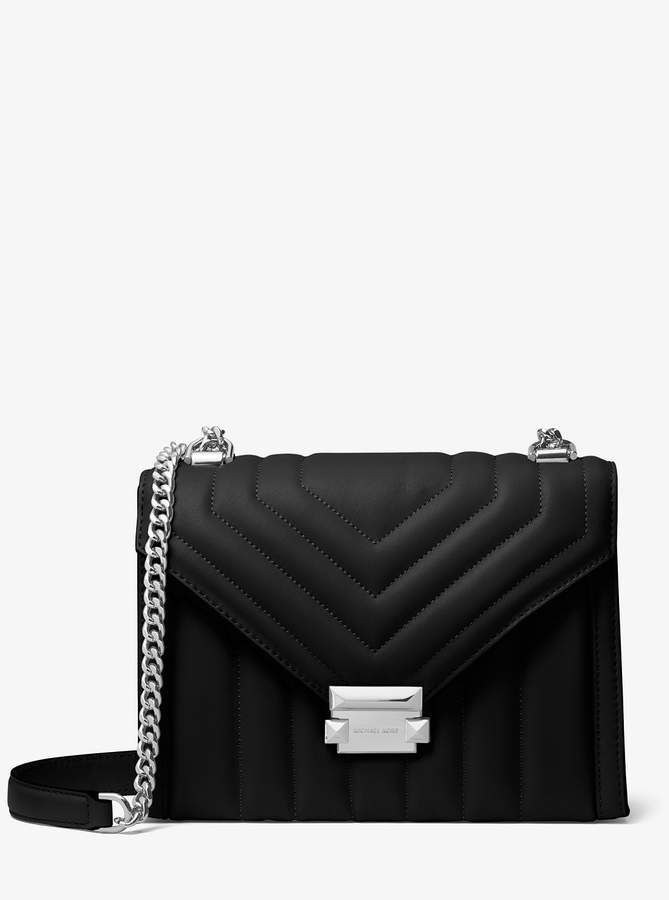 7dca1a603934 ShopStyle Collective. MICHAEL Michael Kors Whitney Large Quilted Leather  Convertible Shoulder Bag Designer Crossbody Bags, Designer Handbags. Visit