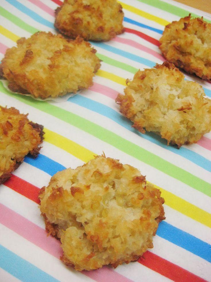 Kleurrijk Eten: Kokos makronen met quinoa