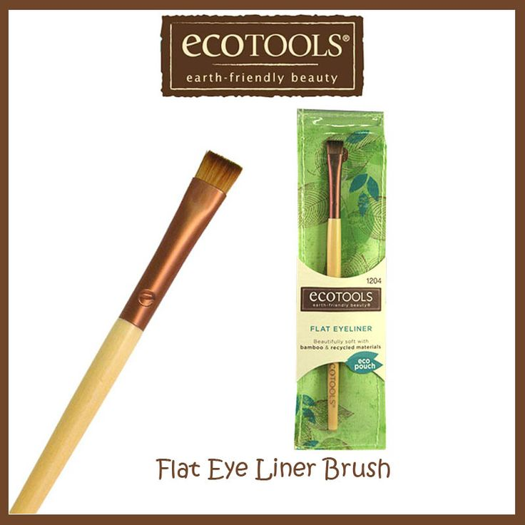 Ecotools Flat Eye Liner Brush