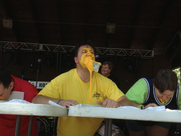The Great Wisconsin Cheese Festival - it doesn't get better than this! #cheeseheads