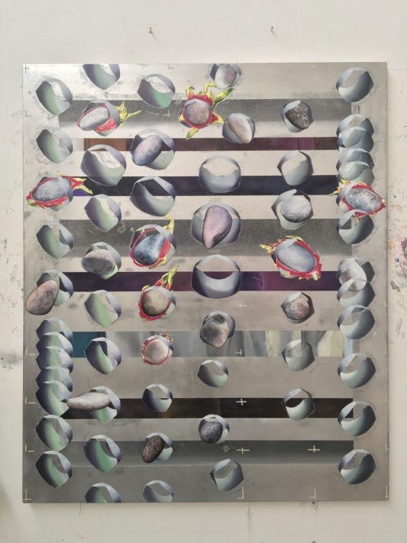 Fascinating artwork inspired by Gömböc from Vivien Zhang!  Source: britishschoolatrome.wordpress.com