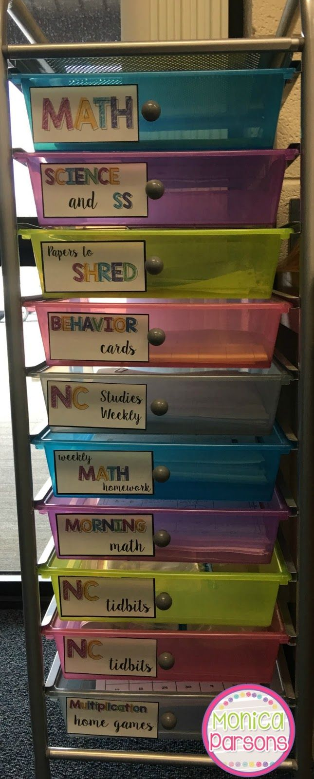 An organized classroom is a happy classroom! Today I'm going to share a few organizational tips that help me keep my sanity! Drawers T...