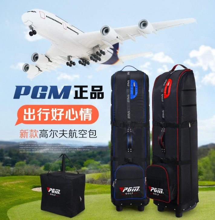 PGM Golf Travel Bag Airplane Traveling Cover Case Carrier.Stand Golf Caddy Bag Can Be Put In.Thicker Soft Sponge Inside