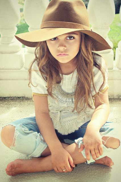 I imagine Taylor and Lanie's little girl to look like this.