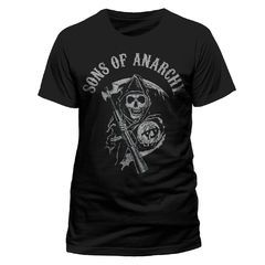 Sons Of Anarchy Reaper Logo T-paita.