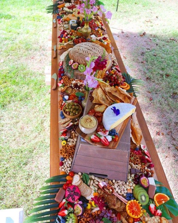 how to make a wooden grazing platter