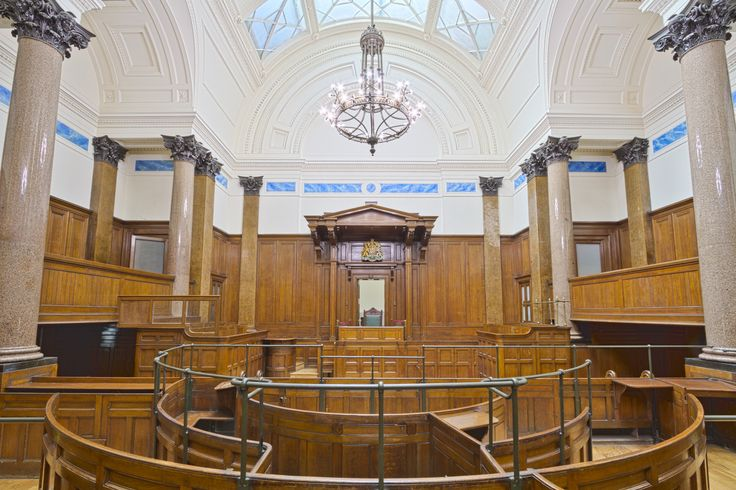 St Georges Hall Court Room Liverpool England UK [OC][5182x3454]