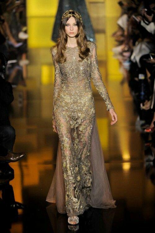 Elie Saab - Haute couture Sfilata di moda autunno/ inverno 2015/2016
