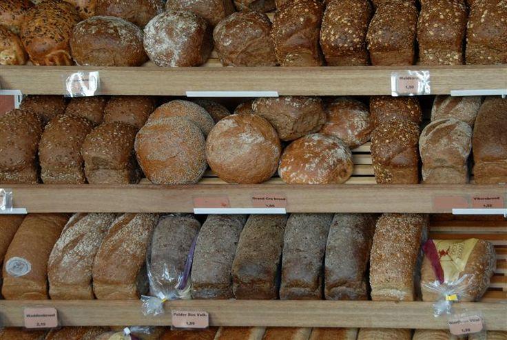 Dutch bread variety - Bergen op Zoom, Noord-Brabant  Username: ninix  Horizontl lines, variety