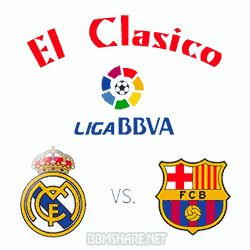 Dp BBM El Clasico Real Madrid Vs Barcelona