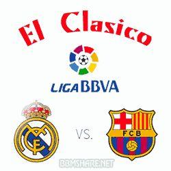 Dp BBM El Clasico Real Madrid Vs Barcelona