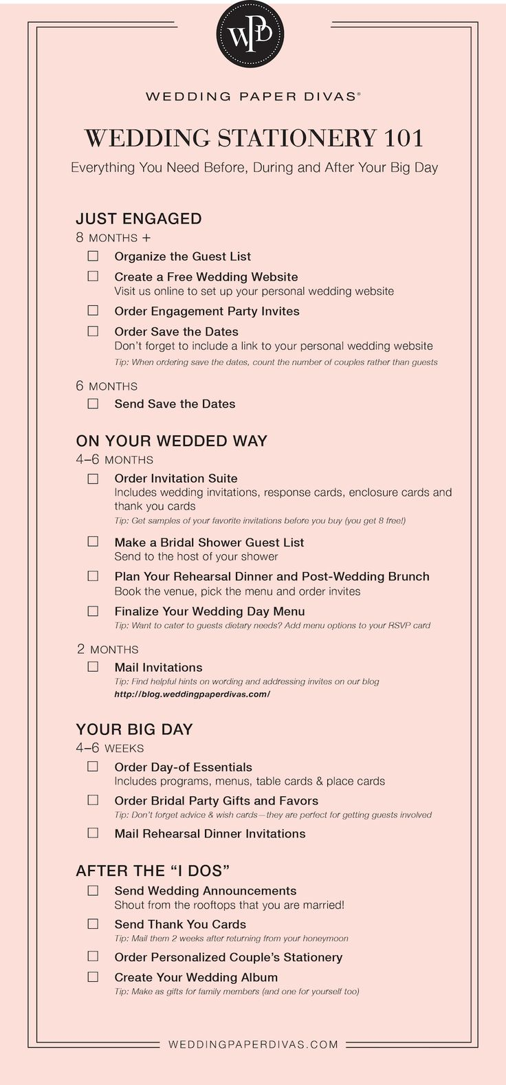 Weding stationery 101 from Wedding paper divas