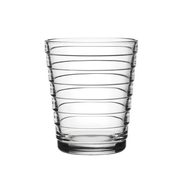 Aino Aalto tumbler 22 cl, clear, set of 2