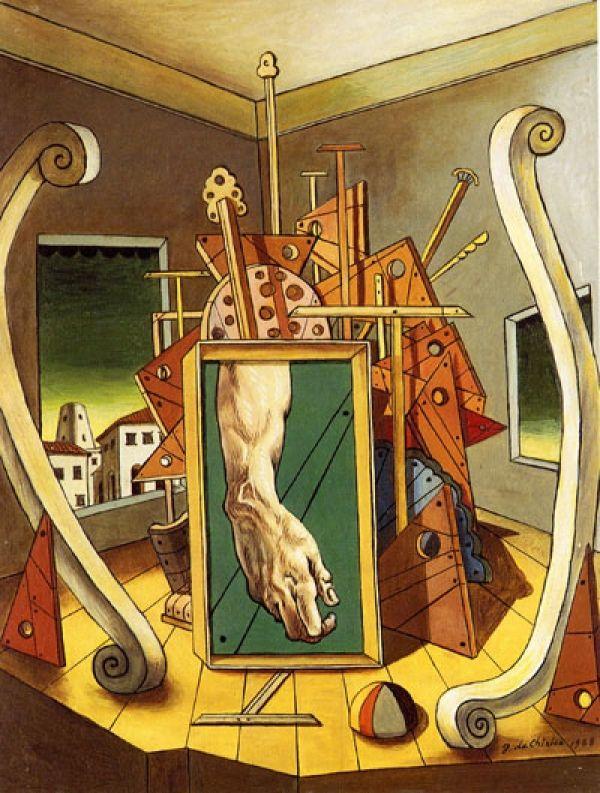 Giorgio De Chirico -- Metaphysical Interior